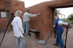 Picture of entrance of Abiquiu House
